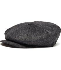 'muirfield' wool tweed bakerboy cap