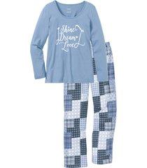 pigiama in cotone biologico (blu) - bpc bonprix collection