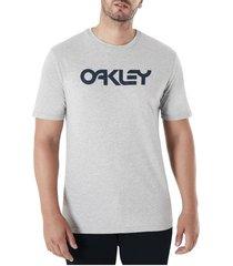 camiseta oakley mark ii granite heather