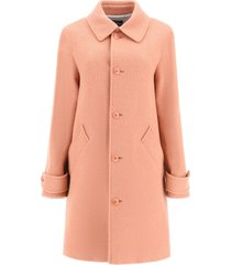 a.p.c. suzanne coat in wool blend