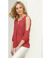 blouse amy vermont koraal