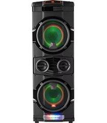 caixa de som jbl party xpert 350w efeitos dj e luzes em led