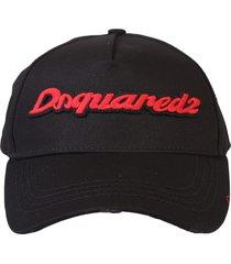 dsquared2 branded baseball hat