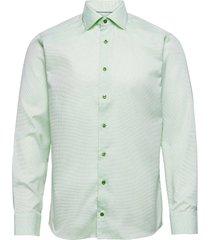 slim fit business signature twill shirt overhemd business groen eton