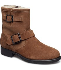 gochal shoes boots ankle boots ankle boots flat heel brun aldo