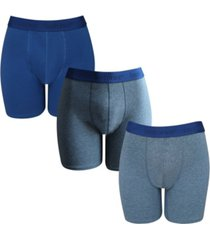 isotoner signature men's 3 pack cotton stretch boxer brief