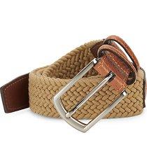 leather & textile belt