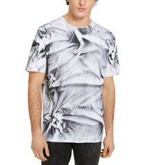 guess men's oversized spray wash t-shirt