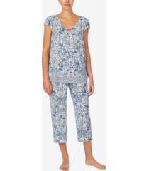 ellen tracy women's short sleeve pajama top