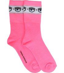 chiara ferragni logomania socks