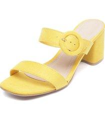sandalia amarillo zatz