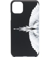 marcelo burlon county of milan wings-print iphone 11 pro max case -