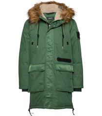 w-bullisk overcoat parka jas groen diesel men