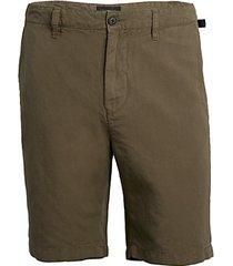 robbie linen-cotton shorts