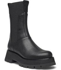 ssf0-t748sen / kate - lug sole combat boot shoes chelsea boots svart 3.1 phillip lim