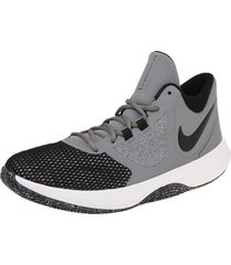 tenis basketball  gris-negro nike air precision ii