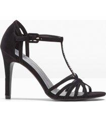 sandali con cristalli swarowski® (nero) - bpc selection