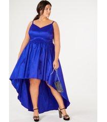 b darlin trendy plus size high-low dress