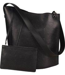 lanvin medium hook shoulder bag