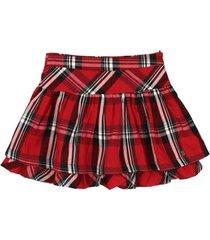 falda london rock rojo ficcus