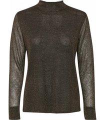 10701986 pennyy knit blouse black