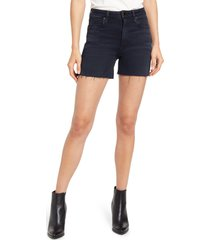 le jean lexi high waist cutoff slim shorts, size 26 in milo at nordstrom