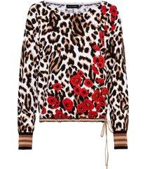 maglione boxy con stampa (bianco) - bodyflirt