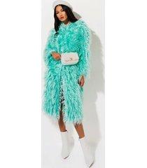 akira leave your lover faux fur coat