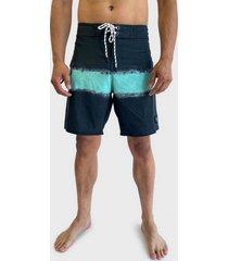 traje de baño reef azul - calce regular