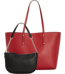 inc zoiey 2-in-1 tote, created for macy's