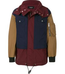 dsquared2 casual zipped jacket - multicolour