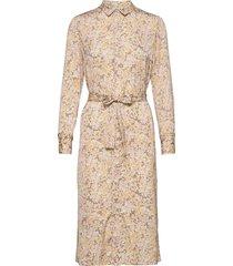 recycle polyester dress ls dresses everyday dresses multi/mönstrad rosemunde