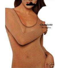 sheer clothing top shirt beige skin tone long sleeves nylon