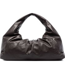 bottega veneta the shoulder pouch bag - brown