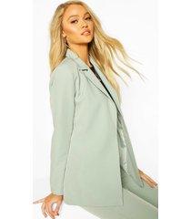 tailored mix & match blazer, sage