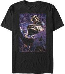 marvel men's avengers infinity war thanos breaking apart short sleeve t-shirt