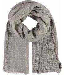 metallic women's flecks scarf