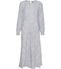 granite tofina dress knälång klänning blå bruuns bazaar