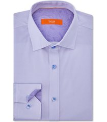tallia men's slim-fit non-iron performance stretch striped dress shirt