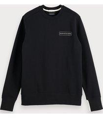 scotch & soda basic sweater met ronde hals