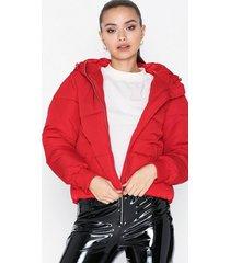 jacqueline de yong jdyerica short padded hood jacket o dunjackor