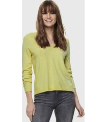 sweater only amarillo - calce holgado
