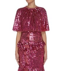 'scarlett' sequin cape