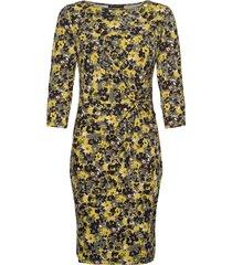 dress short 3/4 sleeve kort klänning grön betty barclay