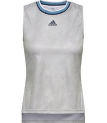 tennis primeblue printed match tank top t-shirts & tops sleeveless wit adidas performance