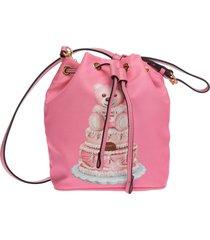 moschino cake teddy bear bucket bag