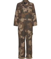 irene boilersuit jumpsuit grön wood wood