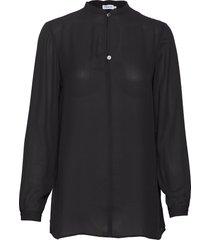 ada tunic blouse blus långärmad svart filippa k