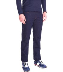 trussardi jeans 380 icon stretch night blue jeans