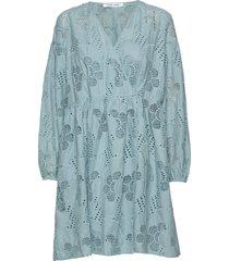 jolie short dress 11455 kort klänning blå samsøe samsøe